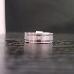 Other - 5️⃣For2️⃣5️⃣🌈NWT Rainbow stainless steel ring